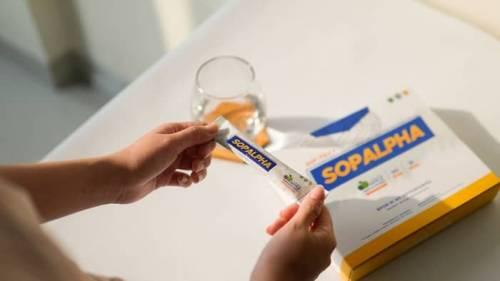 cara minum sopalpha