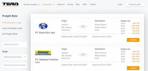 marketplace jasa logistics